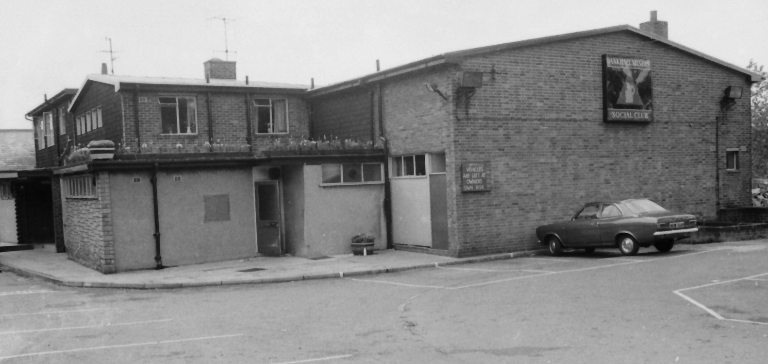 Bank Hall Miner's Club House c1973