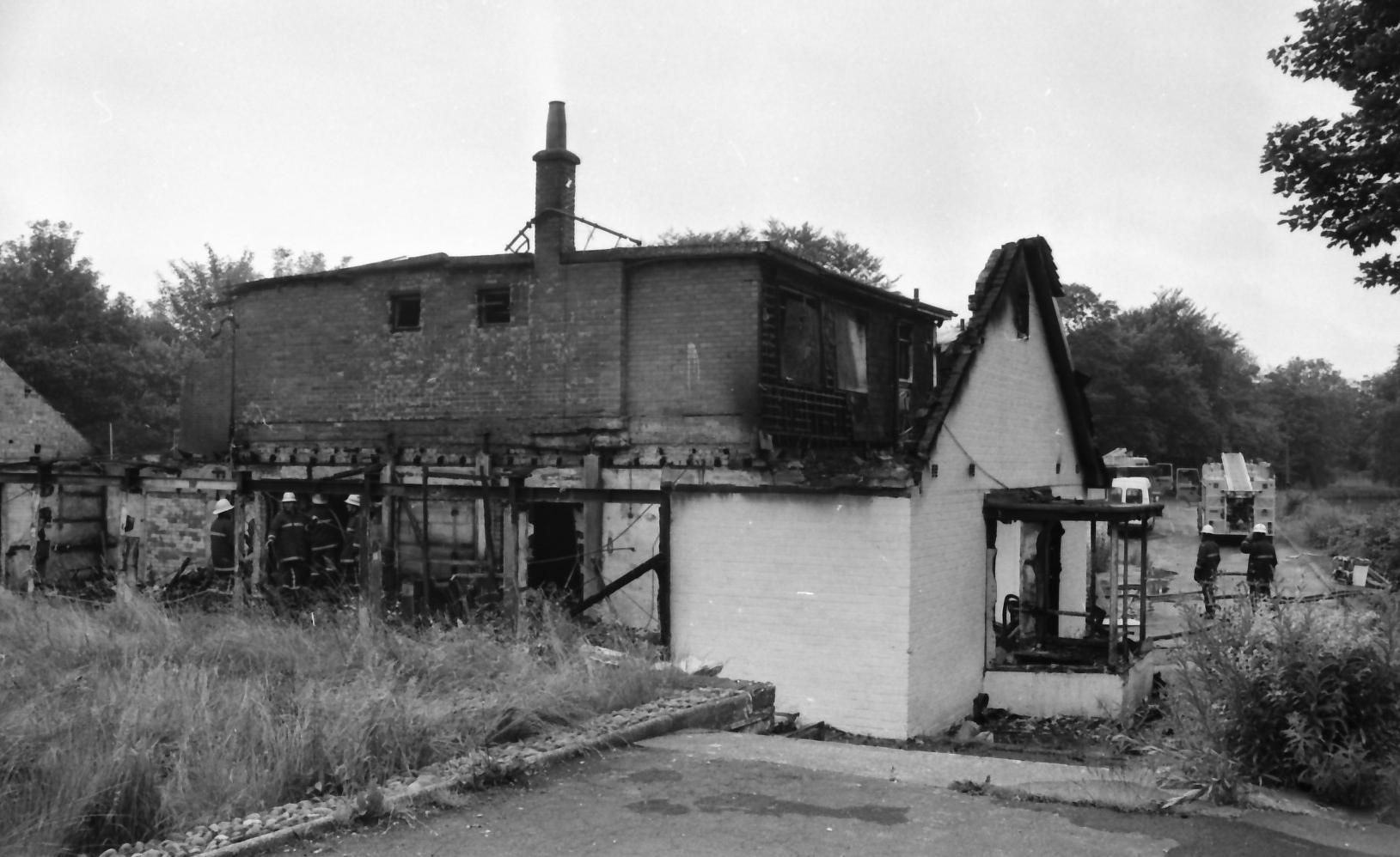 Burnley Miner's Club Fire 1993