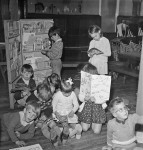 They once had a Bogy hole for naughty boys-Lanehead C of E primary school