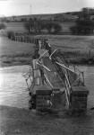 Debris threatens bridge