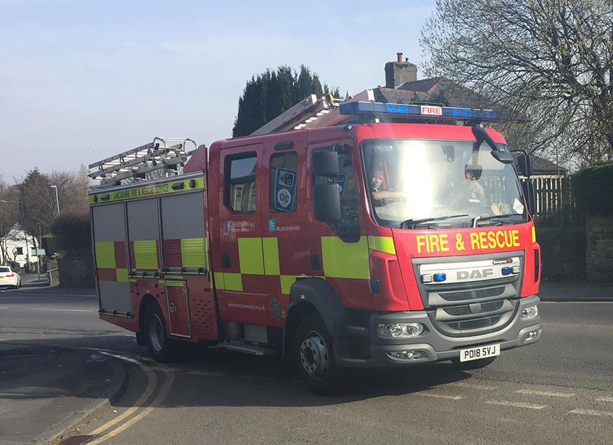 2018 Fire Engine
