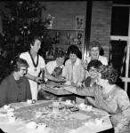 Folk Group Entertains At Party