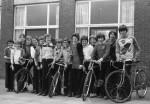 Barden Boys bike to France.