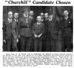 Hugh Monckton-Milnes Liberal National Candidate Burnley 1945 Election