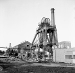 A Landmark Disappears As Pit Head Crashes (1 of 5)