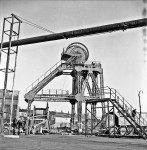 A Landmark Disappears As Pit Head Crashes (2 of 5)