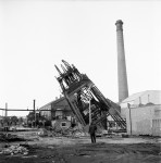 A Landmark Disappears As Pit Head Crashes (3 of 5)