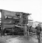 A Landmark Disappears As Pit Head Crashes (5 of 5)