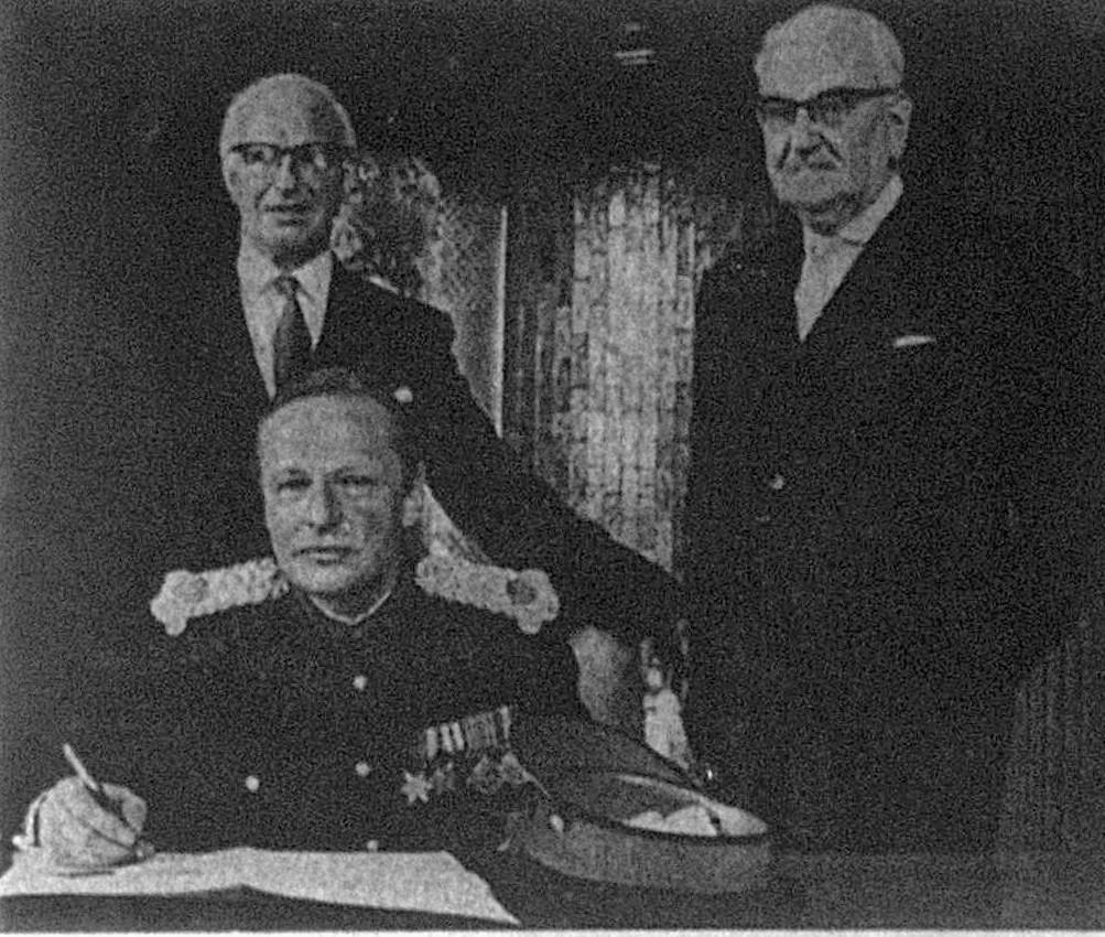High Sheriff of Lancashire 1971