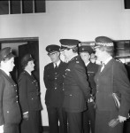 County Assistant Chief Constable Inspects F Division