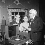 Centre Given New Record Player