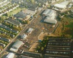 Aerial Photo of North Valley Retail Park