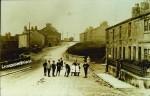 Children on Keighley Road, Laneshawbridge
