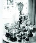 Alan Greenwood, champion gardener
