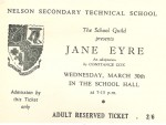 Ticket for Jane Eyre