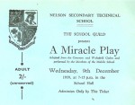 Ticket for A Miracle Play