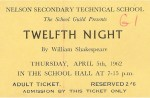 Ticket for  Twelfth Night