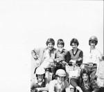 Motorcycle trials riders