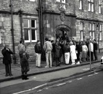 Queue Outside Reedley Magistrate's Court