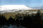 Pendle Hill and the Reservoir