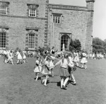 Scottish flavour for Towneley-Children of St Georges School Nelson displaying Scottish Country Dancing