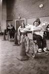 Handicapped show sporting spirit