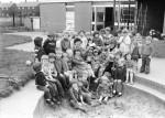 Brunshaw Nursery build bricks to raise money