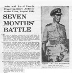 South East Asia Command Memorial Newspaper (2 of 3)