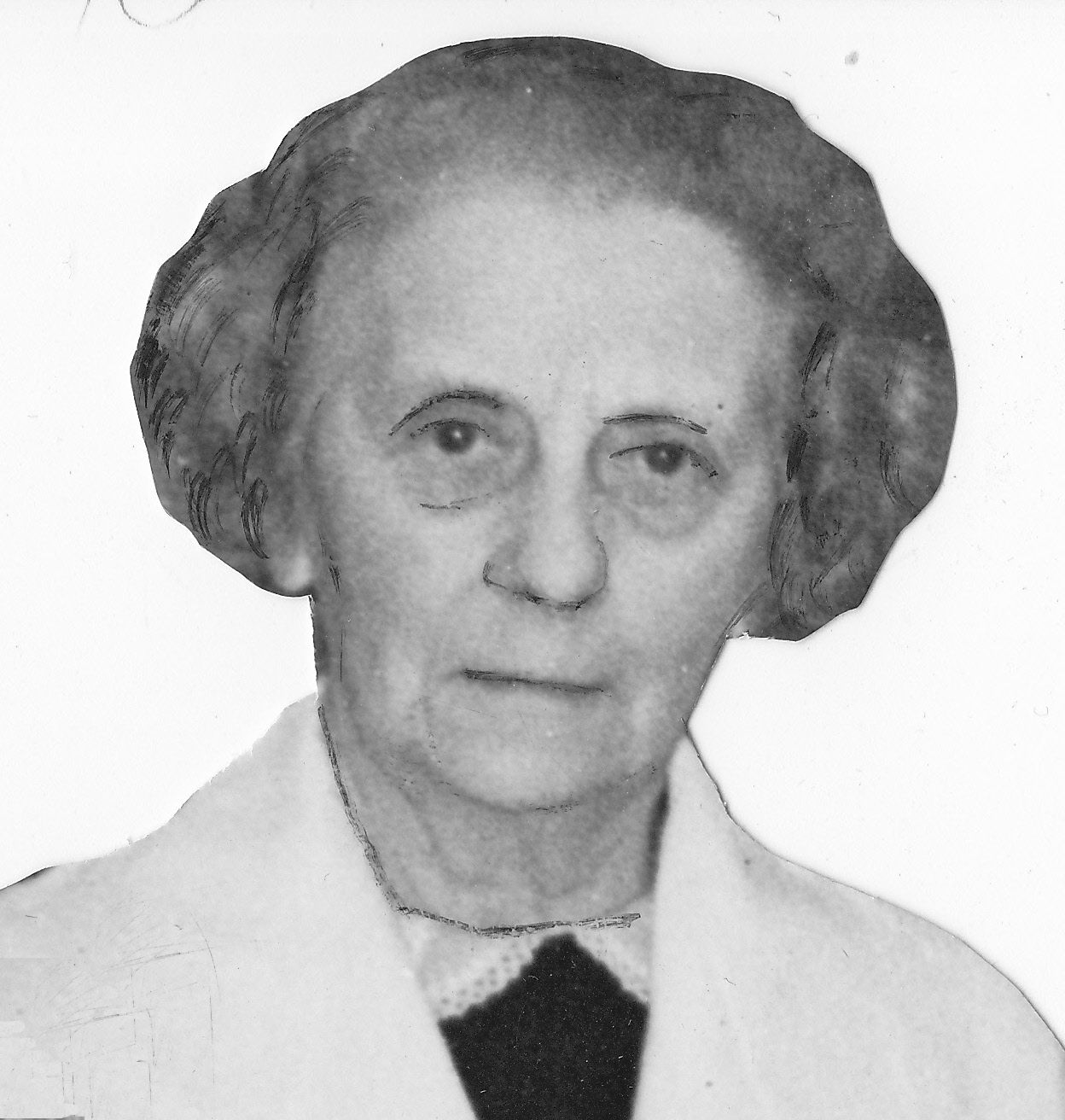 Miss Girling in 1939 on retirement
