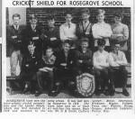 Cricket Shield for Rosegrove School