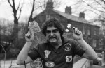 Fistful of dollars for darts champ