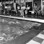 Keen Swimming Contests At HS Gala