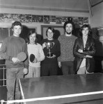 Boys' Club Team Win Table Tennis Trophy For First Time