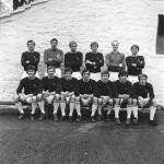 Burnley FC team Commencing Jan 1971