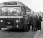 First of New Buses Given a Trial Run
