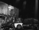 As Lorry Demolished Shop Fronts, He Slept Through It All! (1 of 10)