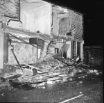 As Lorry Demolished Shop Fronts, He Slept Through It All! (5 of 10)