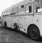 Lorry and Bus in Lunchtime Collision (1 of 3)