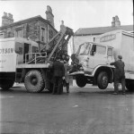 Lorry and Bus in Lunchtime Collision (2 of 3)
