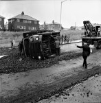 Coke Lorry Skids And Overturns (2 of 3)
