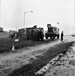 Coke Lorry Skids And Overturns (3 of 3)