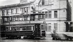 Tram on St James Street
