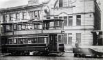 Tram on St James Street
