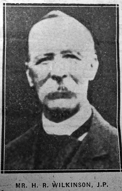 MR. Henry Robert WILKINSON, J.P.